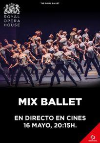 Cartel de la película Mix Ballet. Royal Ballet