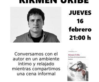 Una noche de libros y tapas con Kirmen Uribe