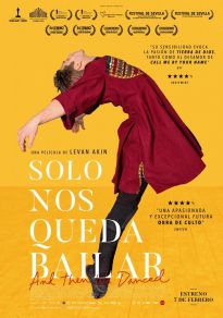 Cartel de la película Solo nos queda bailar (Cine)