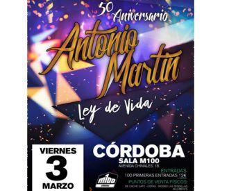 50º Aniversario Antonio Martín