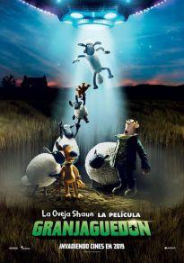 Cartel de la película La oveja Shaun. La película: Granjaguedón