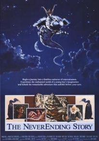 Cartel de la película La historia interminable (1984)