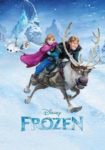 Cartel de la película Frozen: el reino del hielo