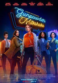 Cartel de la película Gunpowder Milkshake (Cóctel Explosivo)