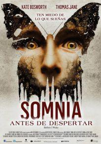 Cartel de la película Somnia. Dentro de tus sueños