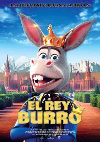 Cartel de la película El Rey Burro