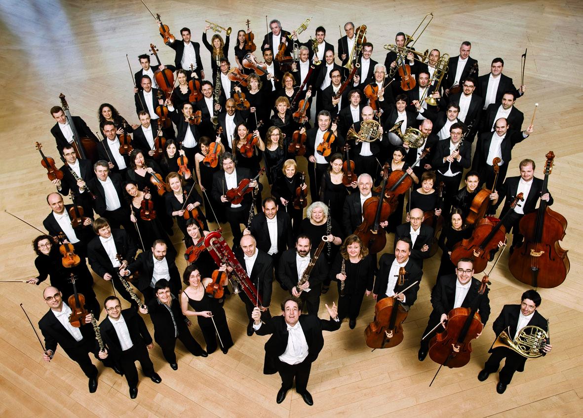 Resultat d'imatges de orquestra