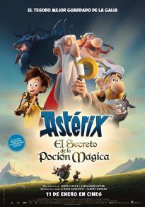 Cartel de la película Astérix: El secreto de la poción mágica