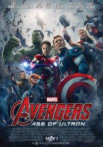 Cartel de la película Vengadores: la era de ultrón