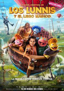 Cartel de la película La gran aventura de los Lunnis y el libro mágico