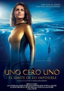 Cartel de la película Uno cero uno, el límite de lo imposible