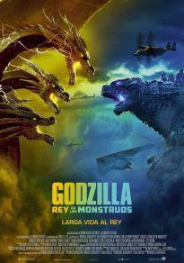 Cartel de la película Godzilla: Rey de los monstruos