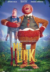 Cartel de la película Mr. Link. El origen perdido