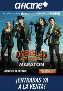 Cartel de la película Maratón Zombieland