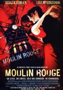 Cartel de la película Moulin Rouge (Cine)