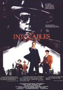 Cartel de la película Los intocables de Eliot Ness