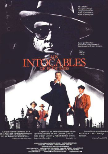 Los intocables de Eliot Ness background