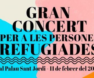 Gran concert per a les Persones Refugiades