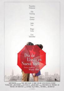 Cartel de la película Día de lluvia en Nueva York