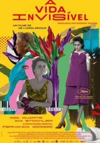 Cartel de la película La vida invisible de Eurídice Gusmão