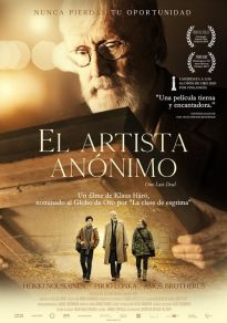 Cartel de la película El artista anónimo