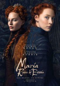 Cartel de la película María, reina de Escocia