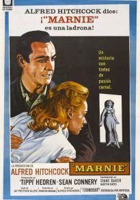 Cartel de la película Marnie, la ladrona