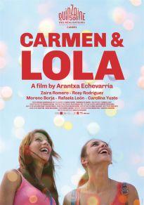 Cartel de la película Carmen y Lola