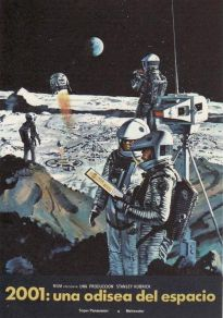 Cartel de la película 2001: Una odisea del espacio