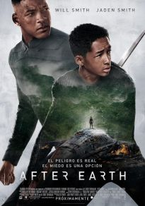 Cartel de la película After earth