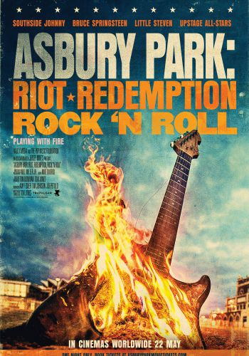 Asbury park: Riot, Redemption rock'n roll background