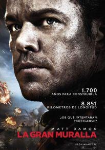 Cartel de la película La Gran Muralla