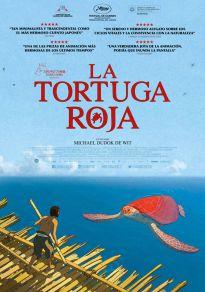 Cartel de la película La tortuga roja