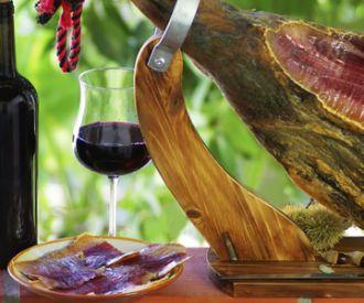 Maridaje premium: jamón ibérico y vinos catalanes