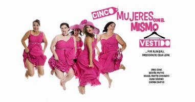 Cinco mujeres con el mismo vestido 2