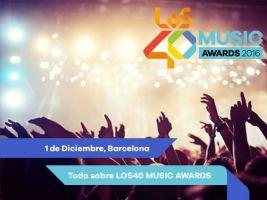 Los40 Music Awards 2017 1