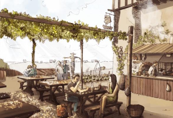 Restaurantes Puy du Fou