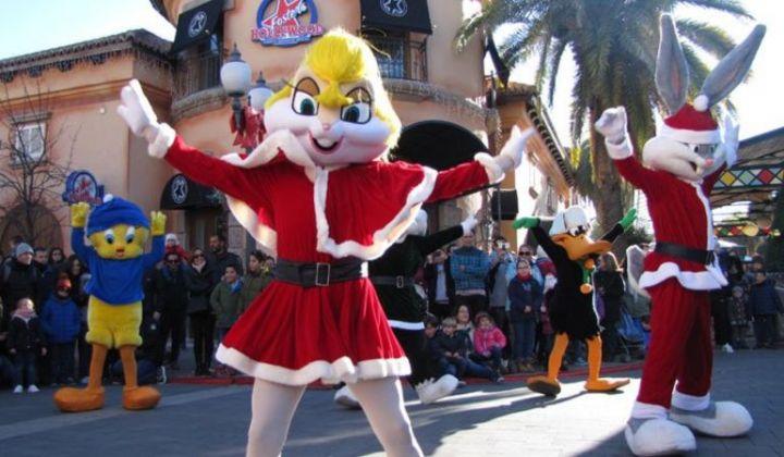 Navidad en Parque Warner