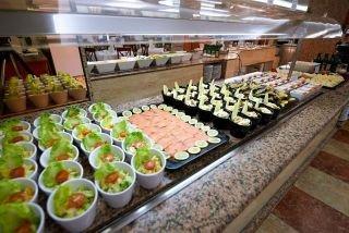 Restaurante buffet Eurosalou - Hotel Eurosalou & Spa